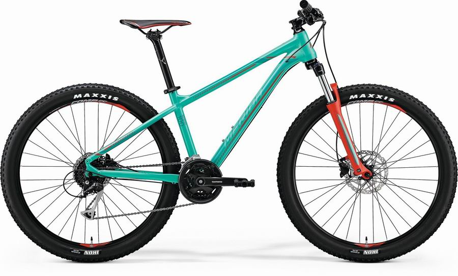 MERIDA BIG SEVEN 100 (2018) (17) GRN/RD